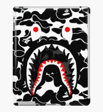 balck shark white iPad Case/Skin