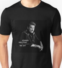 Johnny Hallyday Limitied Edition Unisex T-Shirt