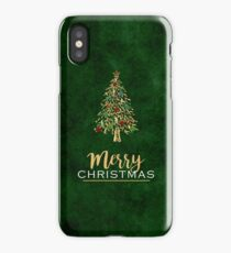 Merry Christmas_Ornaments Version iPhone Case