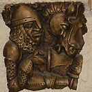 Bronze Knight by Amanda Pikta-Pastirova