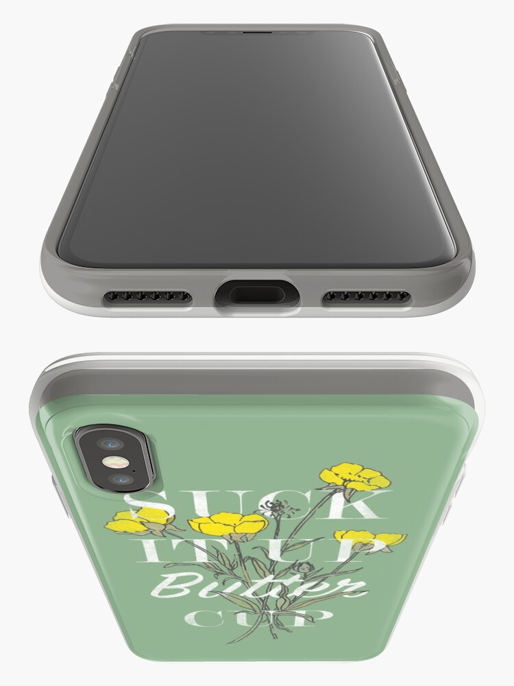 Alternate view of Suck it Up Buttercup iPhone Case & Cover