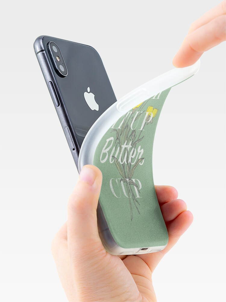 Alternate view of Suck it Up Buttercup iPhone Cases & Covers