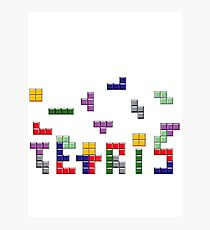 Tetris Photographic Print