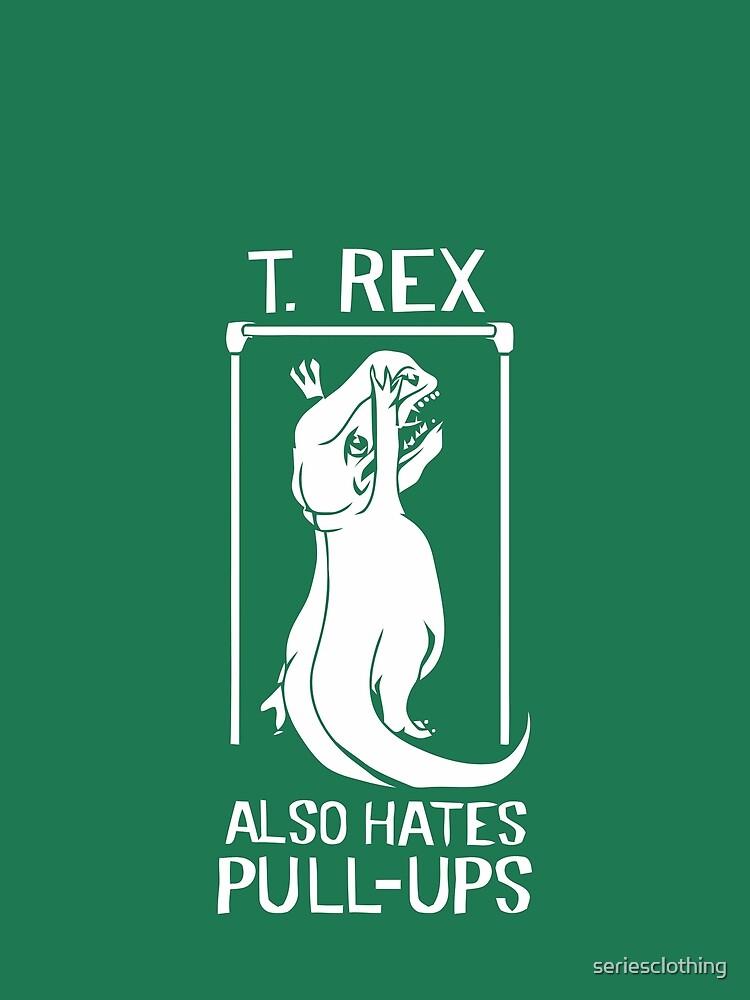 Der Flash (Cisco-Shirt) - T-Rex hasst auch Klimmzüge von seriesclothing