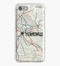 The Walking Dead - Terminus Map iPhone Case/Skin