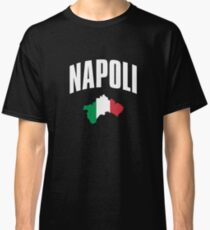 Napoli - Naples Italy Italian Flag Classic T-Shirt
