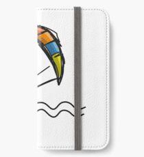 Kiteboarding iPhone Wallet/Case/Skin