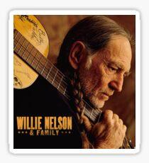legends willie nelson tour 2018 udara Sticker