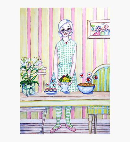 Granny Content Series 1 Photographic Print