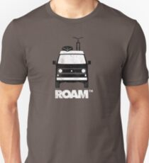 ROAM Westy Camper | Dirtbag Motel  Slim Fit T-Shirt