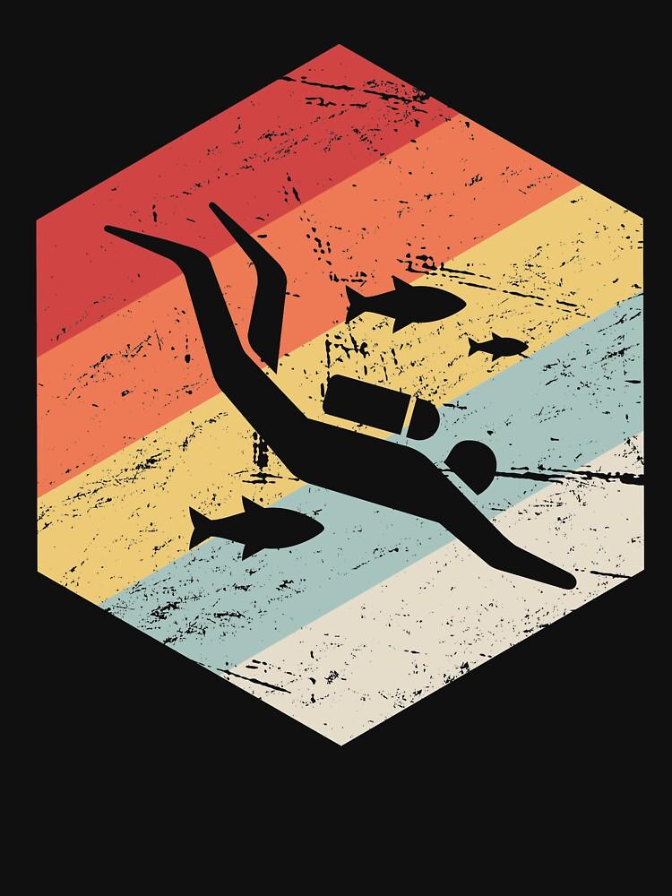 Icono de buzo retro 70s de ethandirks