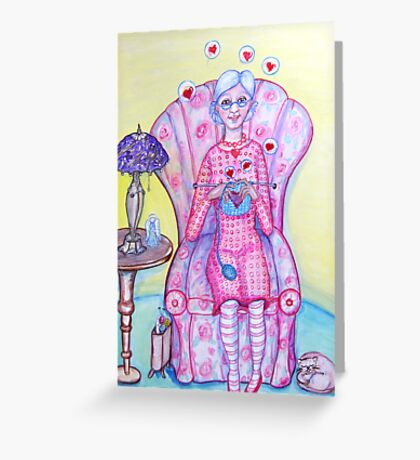 Granny Content Series 2 Greeting Card