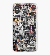 Elvis presley collage iPhone Case