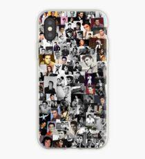 Elvis presley collage iPhone Case