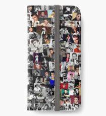 Elvis presley collage iPhone Wallet/Case/Skin