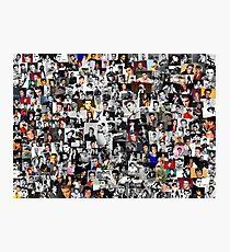Elvis presley collage Photographic Print