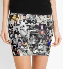Elvis presley collage Mini Skirt