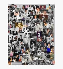 Elvis presley collage iPad Case/Skin
