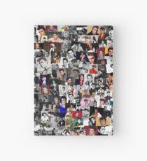 Cuaderno de tapa dura Collage de Elvis Presley