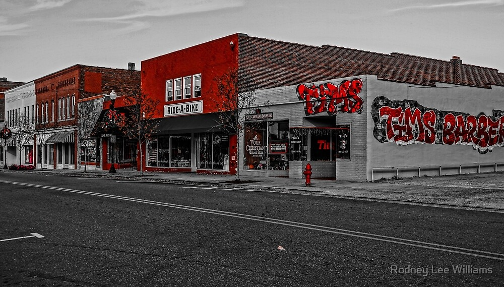 I See Red on Main Street by Rodney Williams