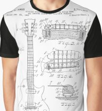Guitar patent from 1955 Graphic T-Shirt