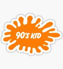 Nickelodeon 90's Kid Sticker