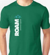 Camiseta ajustada ROAM Apparel Vert Mountain Logotipo