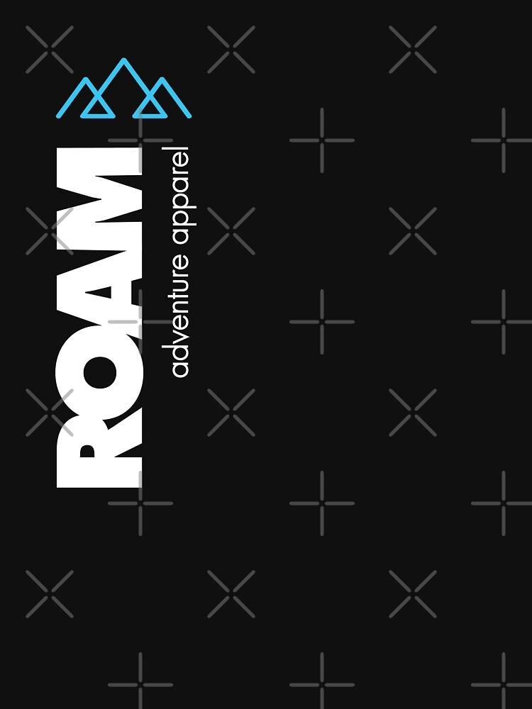 ROAM Apparel Vert Mountain Logo by jpburdett