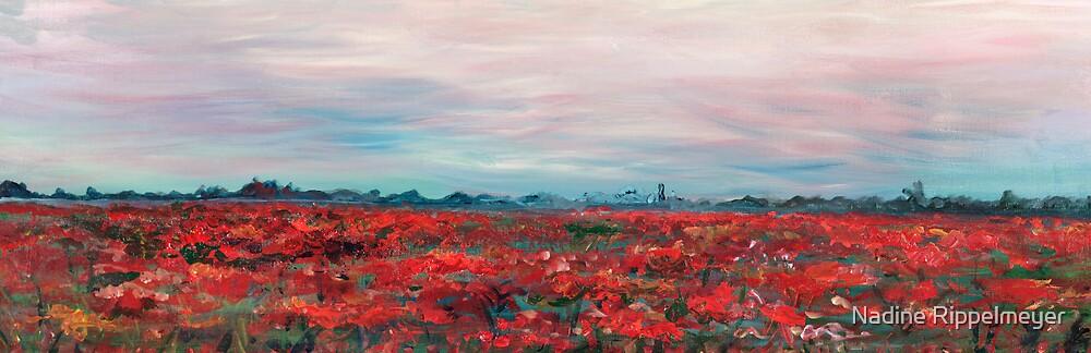 Provence Poppy Field by Nadine Rippelmeyer