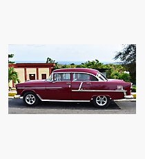 Classic and Cool in Cuba Photographic Print