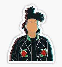 The Weeknd 3D Sticker