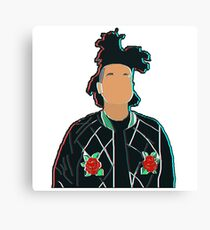 The Weeknd 3D Canvas Print