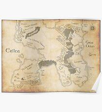 Erilea Map Poster