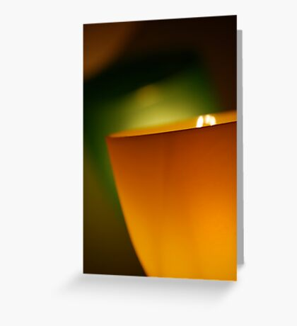 Contemporary Glow Greeting Card