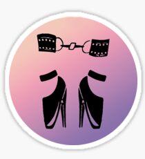 ballet shoes bdsm  Sticker