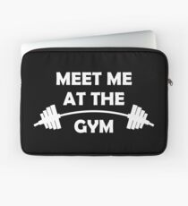 Meet Me At The Gym Laptop Sleeve