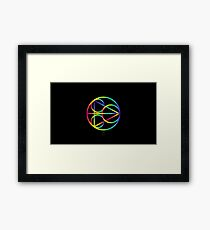 Everything Is Connected Framed Print
