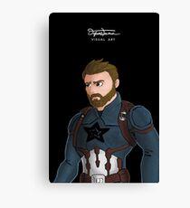 Patriotic Hero Canvas Print