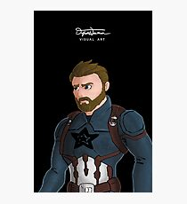 Patriotic Hero Photographic Print