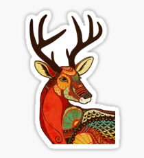 The Deer Sticker