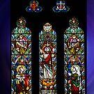 Window, Ross Uniting Church, Tasmania by Bev Pascoe
