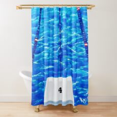 LIFE IN THE FAST LANE....LANE #4 Shower Curtain
