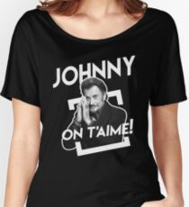 Johnny On T'aime Women's Relaxed Fit T-Shirt