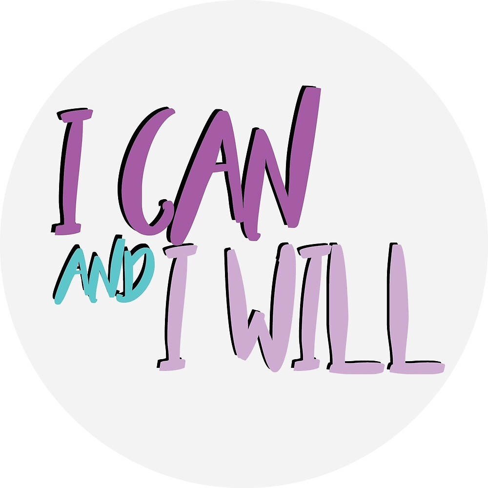 I can and I will Circle by brookesamole