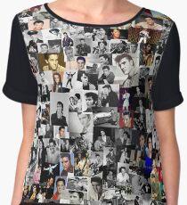 Elvis presley collage Chiffon Top
