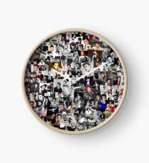 Elvis presley collage Clock