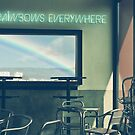 I See Rainbows Everywhere [neon version] by Conundrum Arts