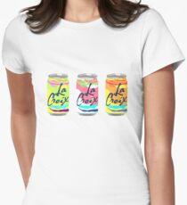 la croix stickers Women's Fitted T-Shirt