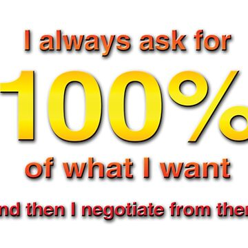 I always ask for 100%!! by LGBT-shirts
