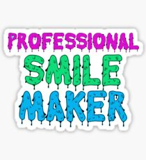 Professional Smile Maker Sticker